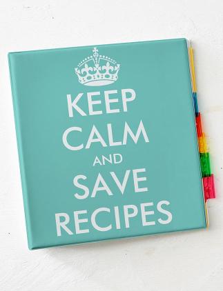 Modern Recipe Binders
