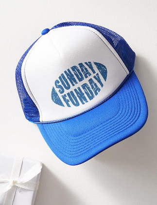 Sports Hats - Sunday Funday Trucker Hat