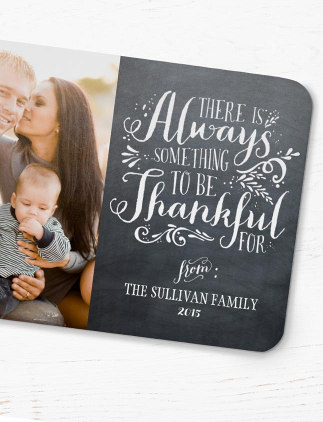 Photo Thanksgiving Cards
