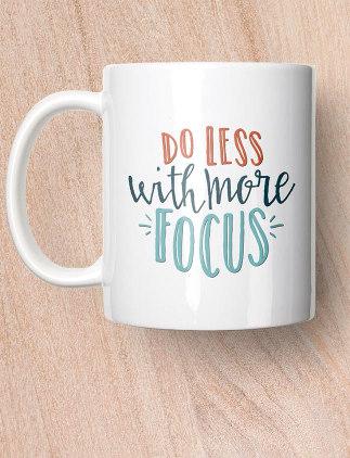 Inspiring <br />Quote Mugs