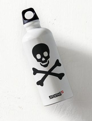 Skull Water Bottles