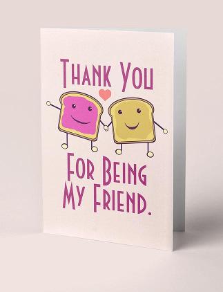 Tarjetas de felicitación para amigos