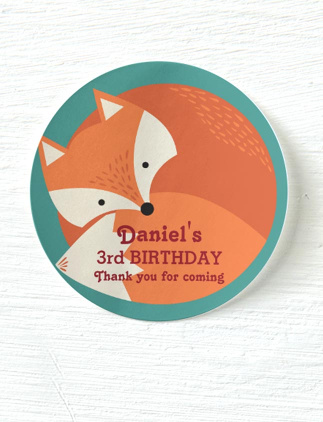 Kid's Birthday Stickers