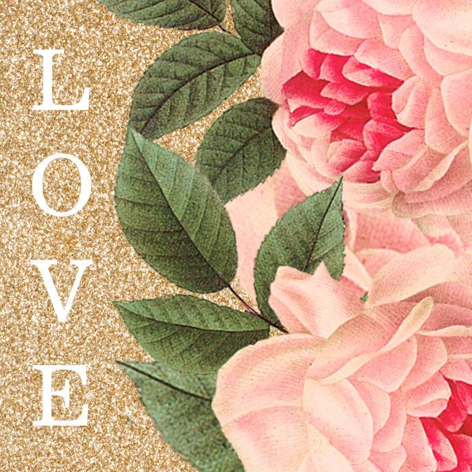Pretty Vintage Flowers Postage