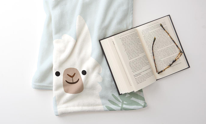Browse our Home & Pets section to find customizable pillows, blankets, mugs, magnets, and more!