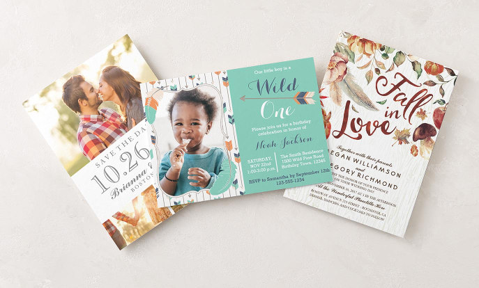Shop All Invitations that will help your guests RSVP to any event you choose to host!