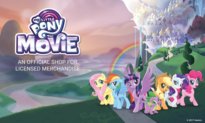 My Little Pony The Movie - An Official Shop For Licensed Merchandise