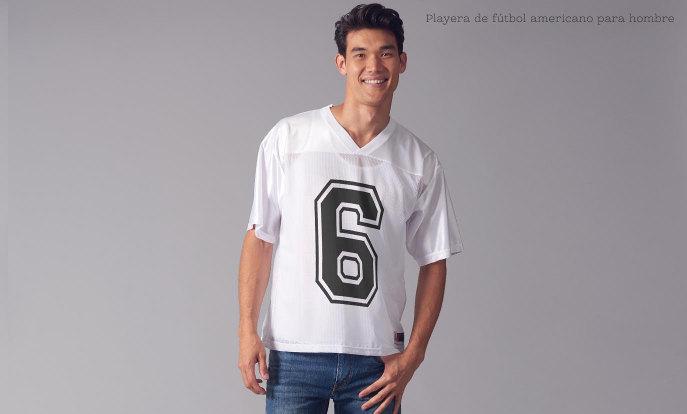 Camisetas de fútbol americano para hombre