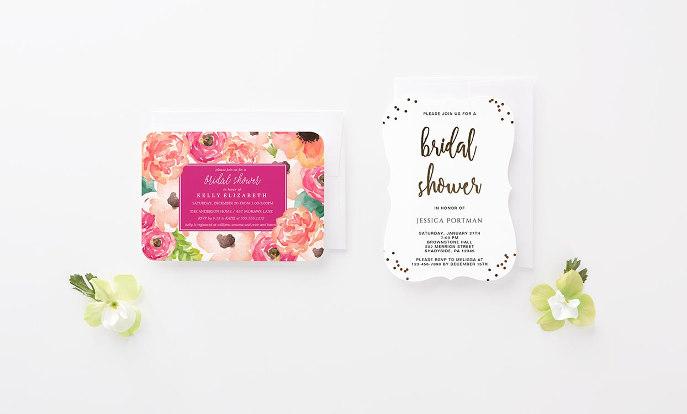 Shop Bridal Shower Invitations >