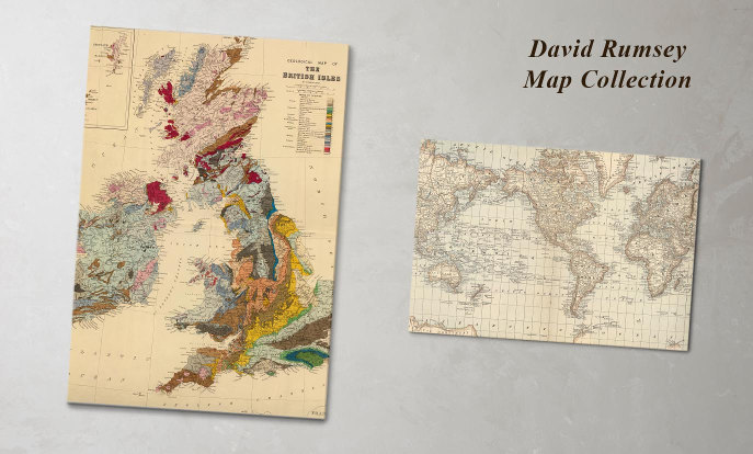 25% off David Rumsey Map Collection