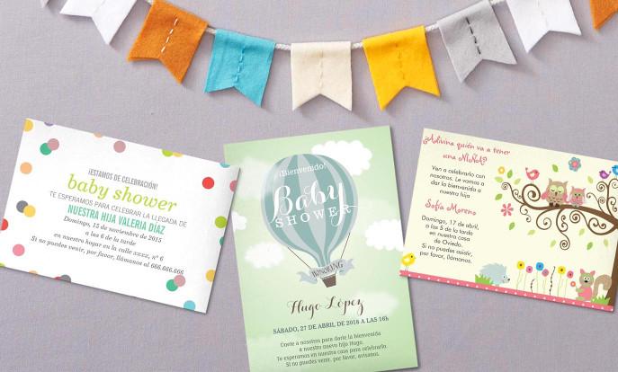 Tarjetas para eventos de bebé en Zazzle