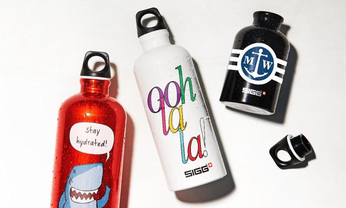 Custom SIGG Water Bottles