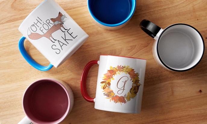 Festive Fall Mugs