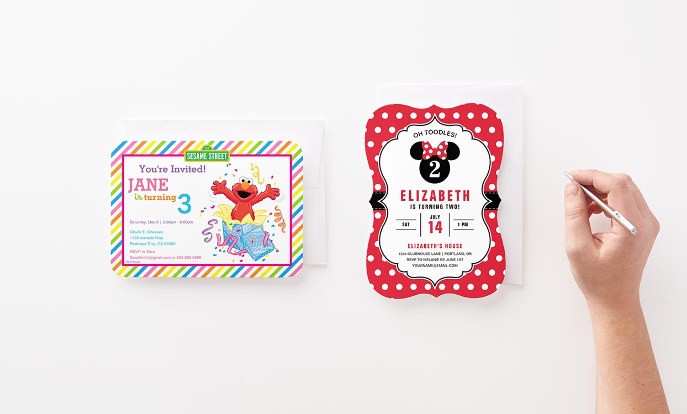Shop Officially Licensed Birthday Invitations >