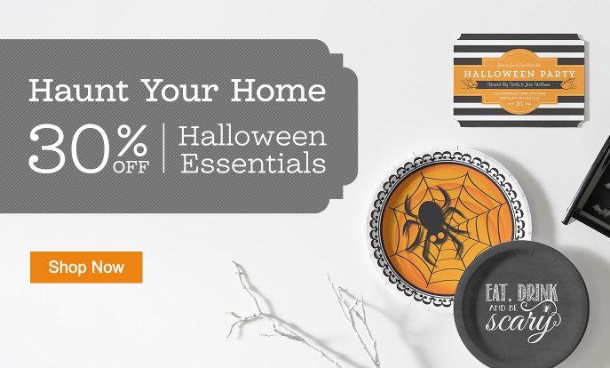 30% Off Halloween Essentials
