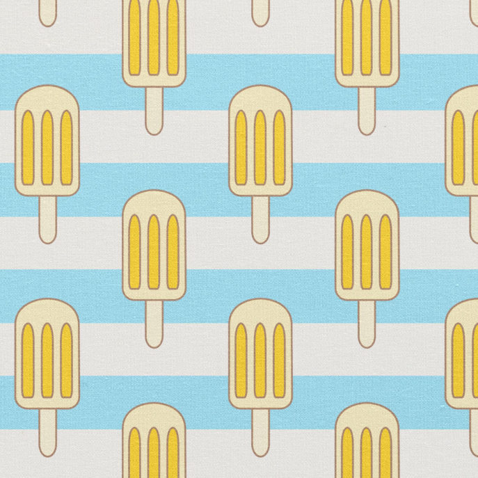 Popsicle Fabric, Ice Pops, Striped Fabric