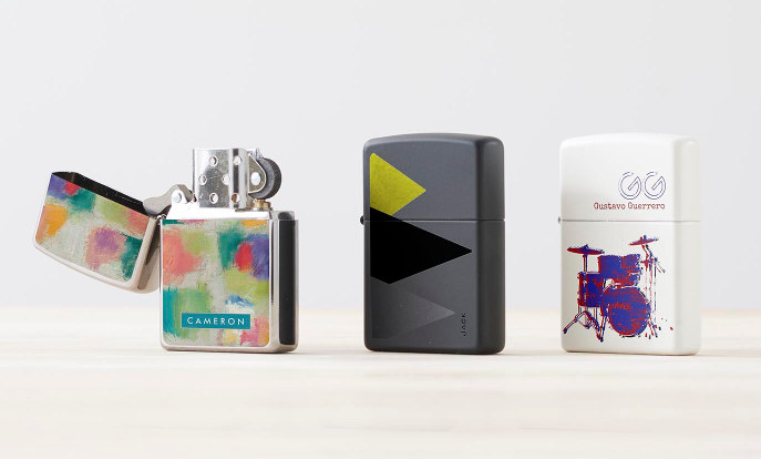 Customize your own Zippo Lighter today!