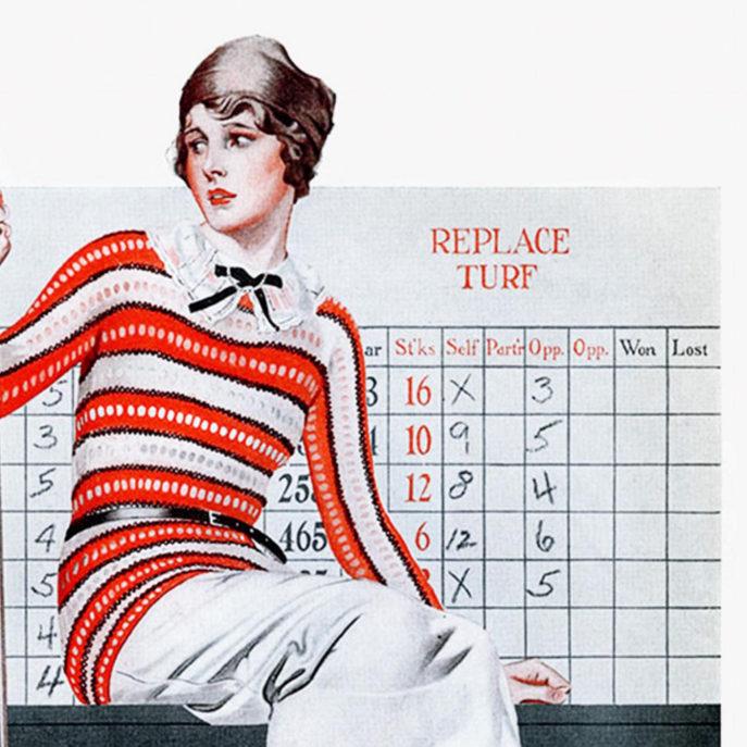 1922 Golf  - Poster