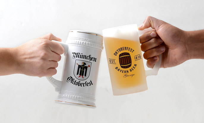 Get ready for Oktoberfest with your customized beer stein!