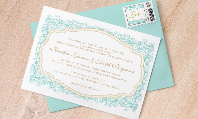 Crea tus propias invitaciones de bodas y personalízalas con tus colores, diseños o estilos favoritos.