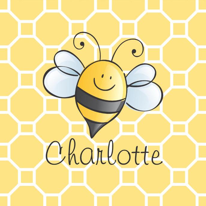 Yellow Honey Bee | Custom Baby Pacifier