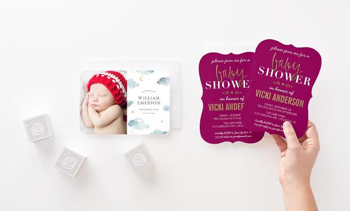 Shop Baby Invitations >