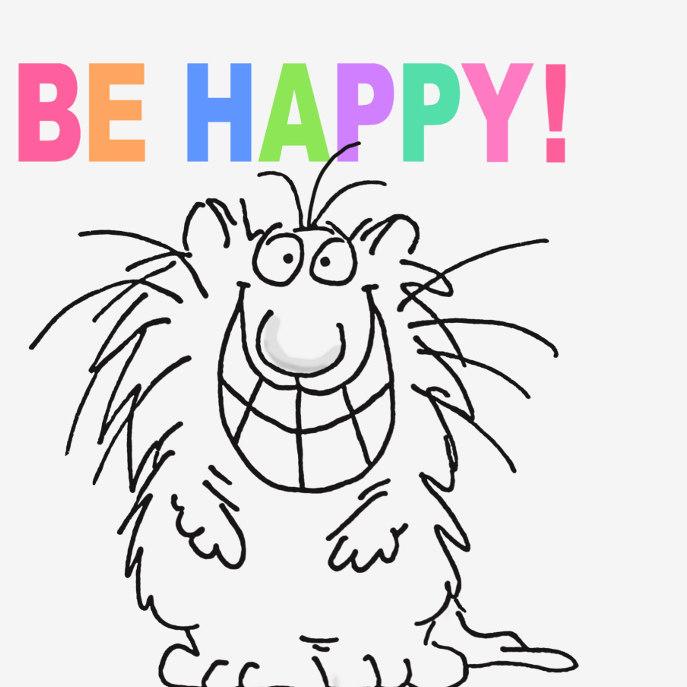 BE HAPPY! T-Shirt