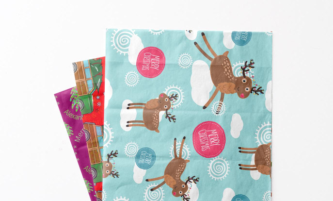 Gift wrapping ideas custom gift wrapping ideas zazzle tissue paper negle Image collections