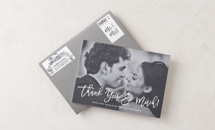 Browse the Cards & Postage to personalize your own invitations and postage