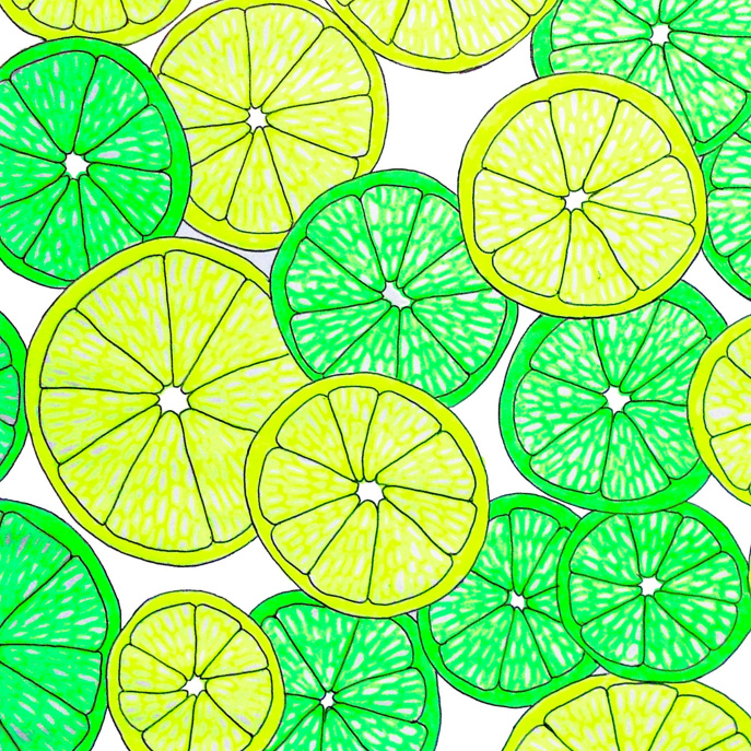 Lemons and Limes Placemat