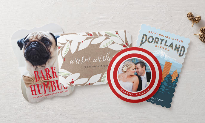 Flat Christmas Cards & Invitations