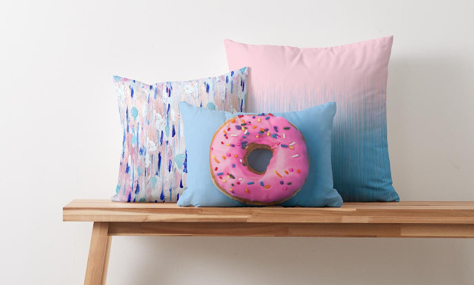 Decorate your home with custom pillows, blankets and more from Zazzle!