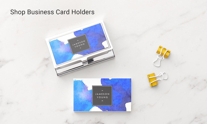Shop Zazzle's Business Card Holders Collection