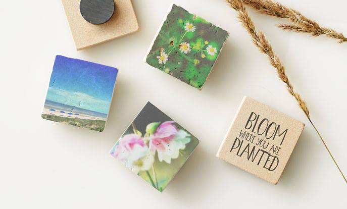 Stone Magnets for Elegant Decoration