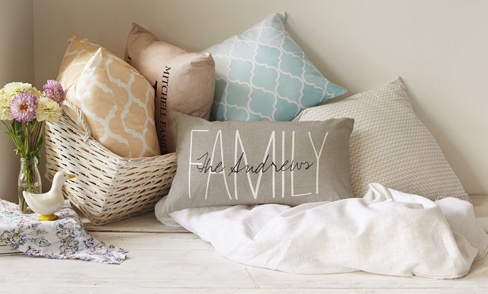 Get Cozy with Custom Pillows