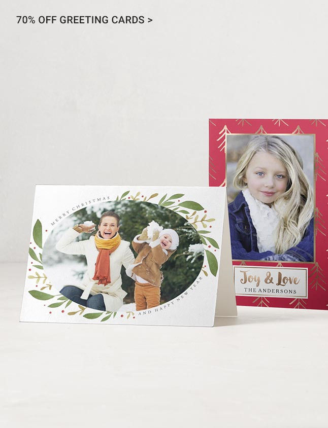 50% Off Greeting Cards