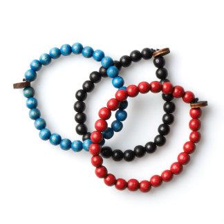 3 Pack Beaded Bracelets by GoodWoodNYC Bracelet