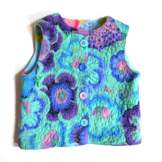 Kids Fleece-Lined and Quilted Vest