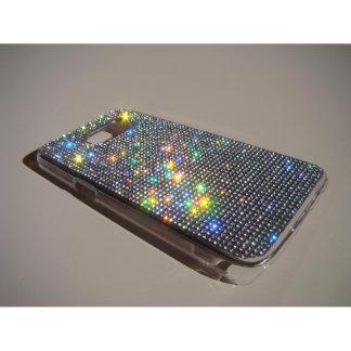 Samsung Galaxy S7 Clear Case w/Clear Crystals