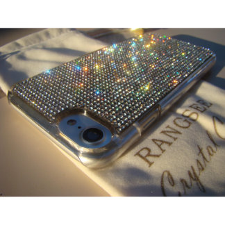 iPhone 7 Transparent Case w/Clear Crystals