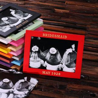 Bridesmaid Keepsake Photo Frame Red 5 x 7