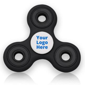 Black & White Fidget Hand Spinner Focus Toy