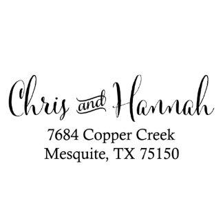 Copper Creek Return Address Stamp