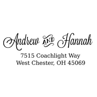 Coachlight Self Inking Return Address Stamp