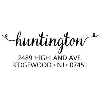 Highland Self Inking Address Stamp