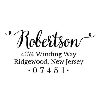 Robertson Return Address Stamp