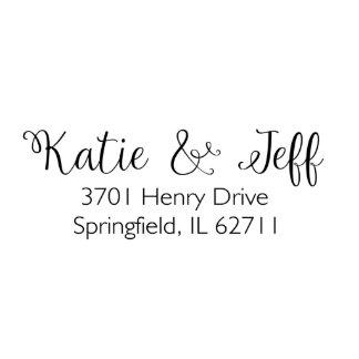 Springfield Self Inking Return Address Stamp