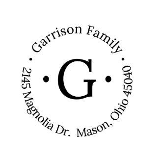 Garrison Return Address Stamp