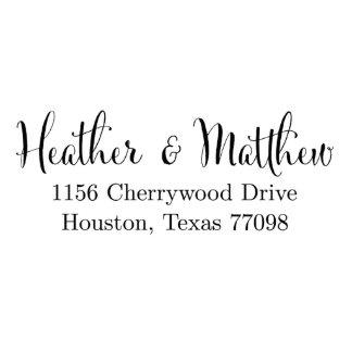 Cherrywood Custom Address Stamp