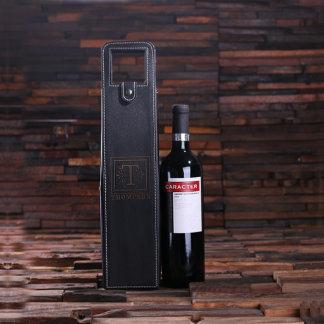 Personalized Single Bottle Wine Holder/Pouch